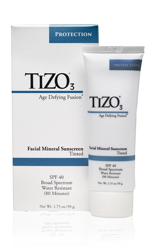 Tizo3 Facial Mineral Sunscreen SPF 40 Tinted