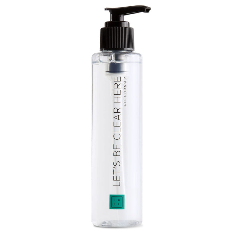 Tuel Let's Be Clear Here Gel Cleanser