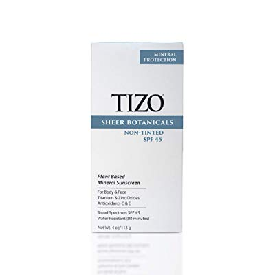 Tizo Sheer Botanicals SPF 45