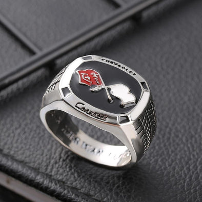 Men's Ring Legend Supercar Corvette Champion Men Ring FHR109