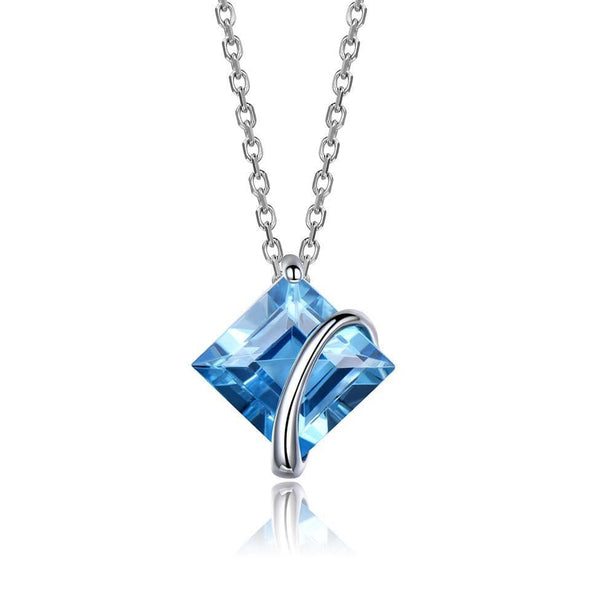 Necklaces Topaz Gemstone Pendant