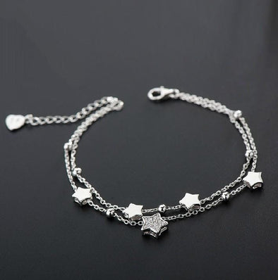 Bracelet S5470 -2020 new luxury 925 sterling silver bracelet bangle FHB033