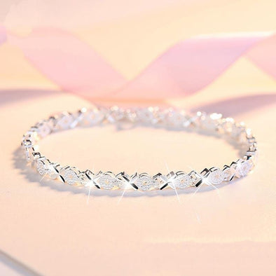 S5439 -2020 new luxury  925 sterling silver bracelet bangle FHB002