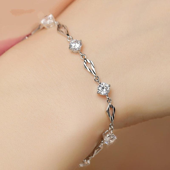 Bracelet S5476 -2020 new luxury 925 sterling silver bracelet bangle FHB039
