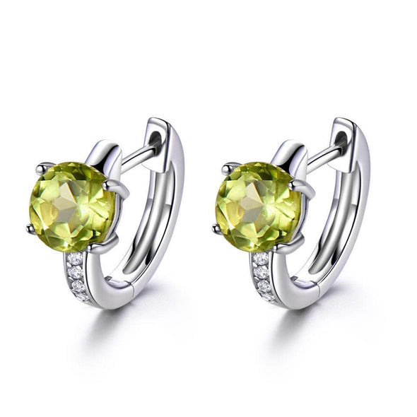 Clip Earrings Peridoct Citrine Clip Earrings