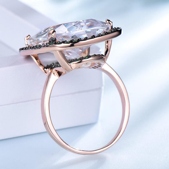 Ring 7 Cubic Zirconia Silver Ring