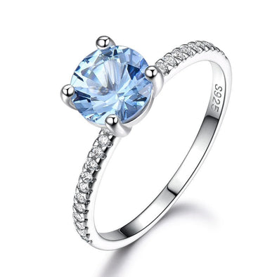 Ring 5 Topaz Engagement Ring