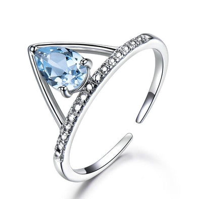 Ring Topaz Gemstone Ring