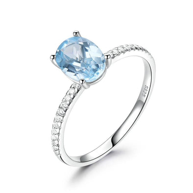 Ring 5 Topaz Birthstone Ring