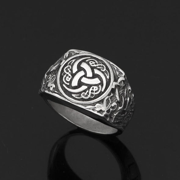 Men's Ring Valknut Ring