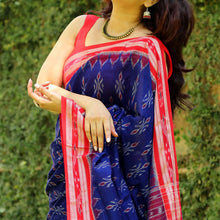 Load image into Gallery viewer, Saree online - Blue-Color-Printed-Casual-Wear-Saree