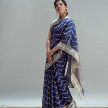 Load image into Gallery viewer, Saree online - Blue-Color-Celebrity-Style-Saree