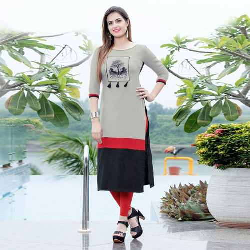 Fashionable multi Color Kurti