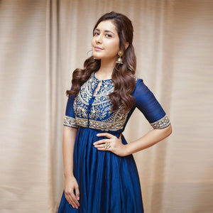 Gorgeous Royal Blue Color Kurti
