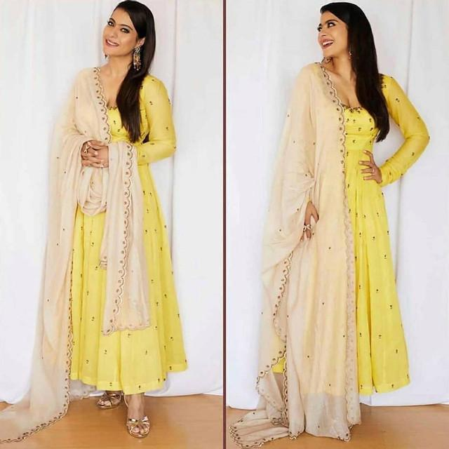 Designer Yellow Color Salwar Suit With Dupatta