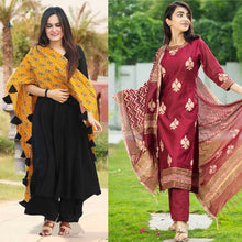 Load image into Gallery viewer, Pack Of 2 Fashionable Kurti