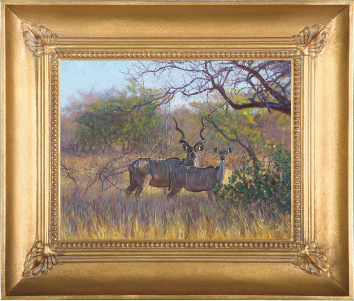 Kudu in the Lowveld by John Banovich