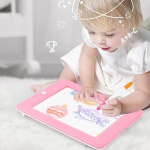 (50% OFF Limited time )-Neon Light Up Glow Board-Drawing Magic Board
