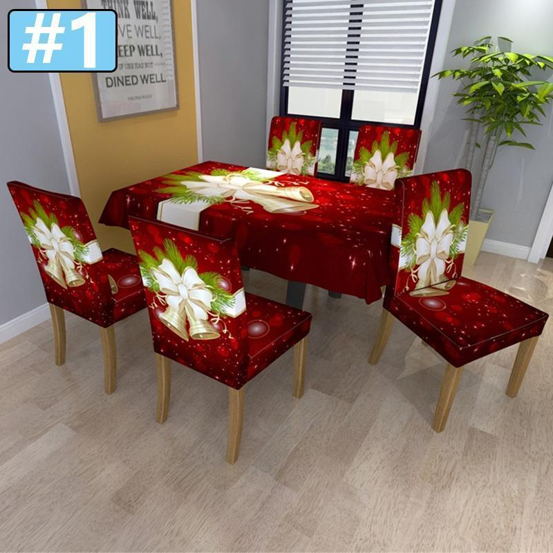 2020 New Christmas Chair Cover
