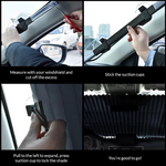Load image into Gallery viewer, Car Retractable Windshield Cover
