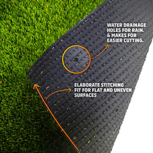 Indoor Outdoor Garden Lawn Landscape Synthetic Grass Mat