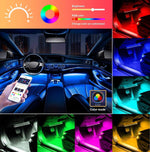 Load image into Gallery viewer, APP Controller Car Interior Lights