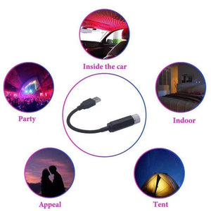 (50% OFF)-Car and Home Romantic USB Night Light!