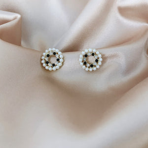 Earrings Set Hypoallergenic Cubic Zirconia 18K White Gold