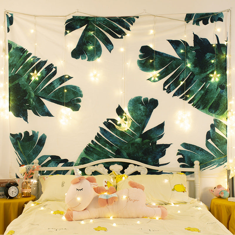 Interior decoration background cloth