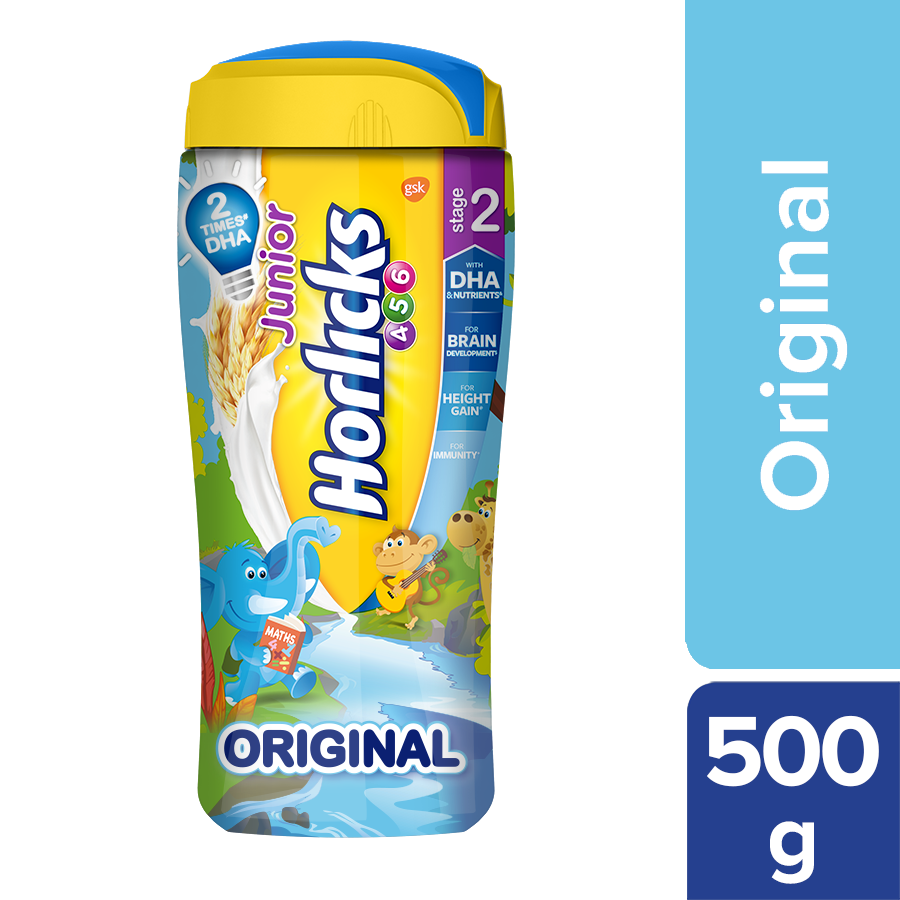 Horlicks Junior Health & Nutrition Drink - Original Flavour (Stage 2)