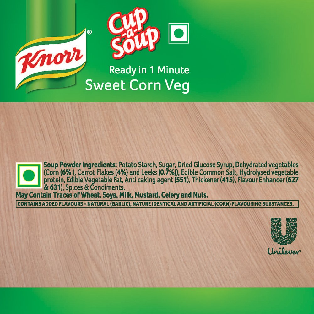 Knorr Instant Sweet Corn Cup-A-Soup, 10 g