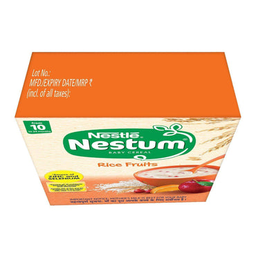 Nestle Nestum Baby Cereal - From 10 To 24 months, Rice Fruits, 300 g - ClickUrKart