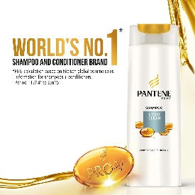 Pantene Shampoo - Lively Clean, 340ml