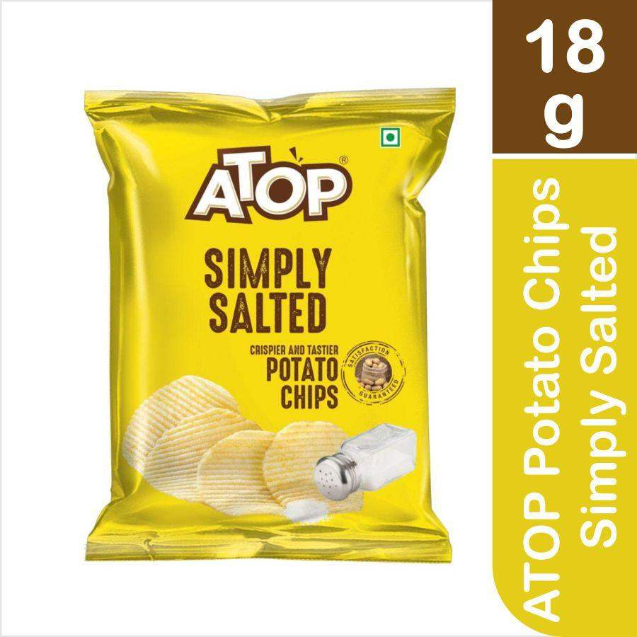 ATOP Potato Chips Simply Salted 18g - ClickUrKart