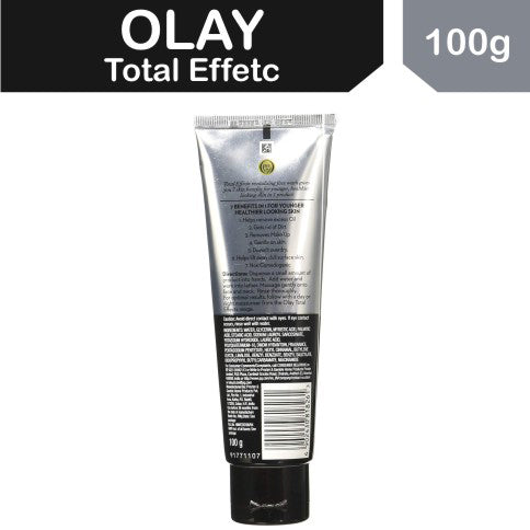 Olay Total Effects 7-In-1 Anti Aging Foaming Face Wash Cleanser, 100g