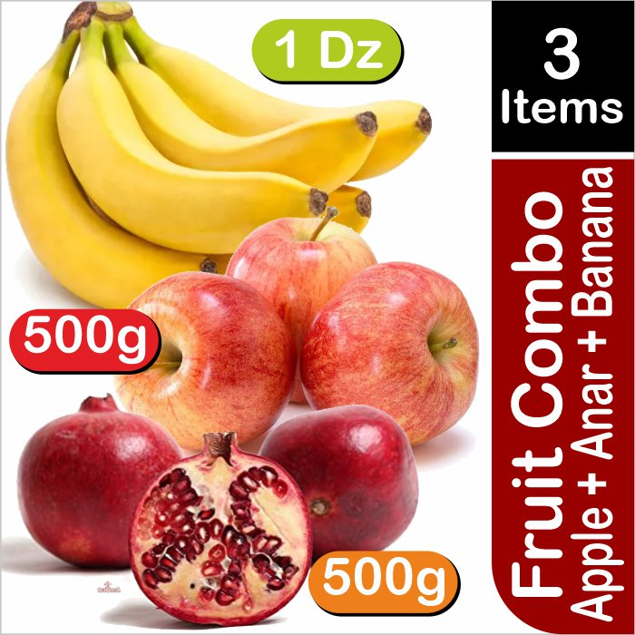 Combo of 3 fruits