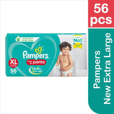Pampers New Extra Large, 56 pcs 56's Pack