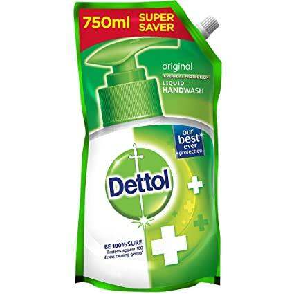 Dettol Hand Wash Liquid Refill - Original, 750ml - ClickUrKart