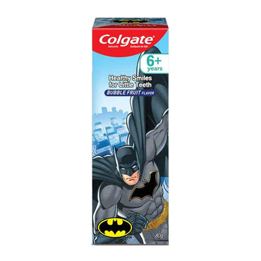 Colgate Kids Anticavity Toothpaste - Bubble Fruit Flavour, Batman - ClickUrKart