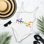 """VIBRANT"" LGBTQ Edition One-Piece Swimsuit"