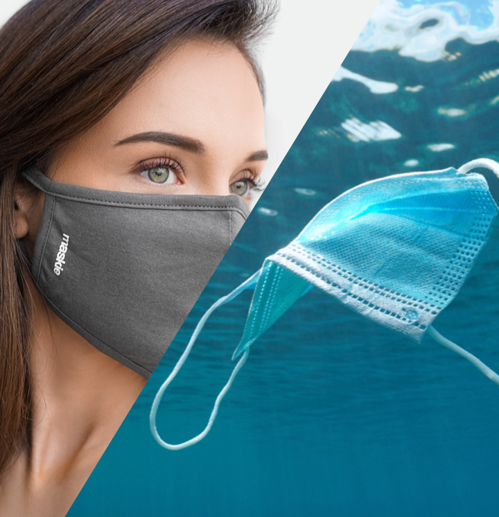 <h3><strong>Disposable face masks are an environmental crisis. </strong></h3> <p> </p>