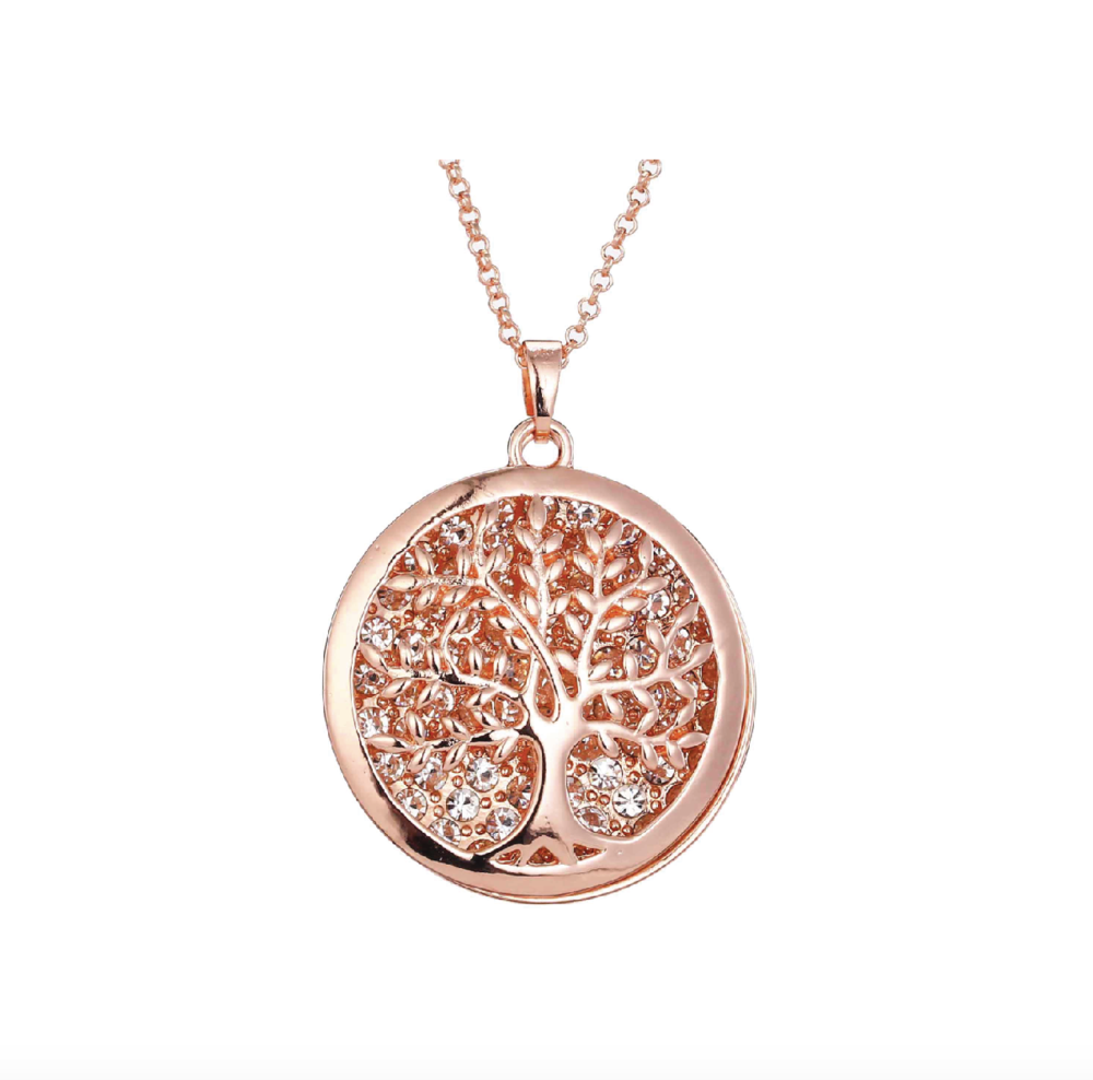 Necklace - Large Rose Gold Tree