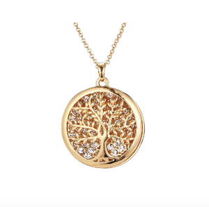 Necklace - Gold Large Tree