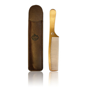 Mens Limited Edition Copper Plated - Stainless Steel Comb