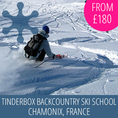 Welcome to Tinderbox Backcountry Ski School, Chamonix