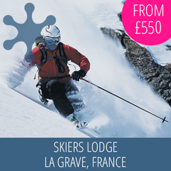 Welcome to Skiers Lodge, La Grave