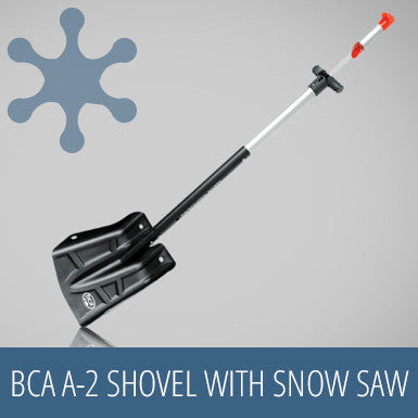 BCA A-2 Shovel with Snow Saw