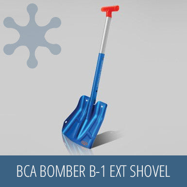 BCA Bomber B-1 EXT Shovel, snow gear, safety kit