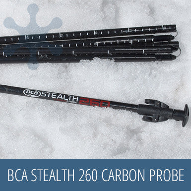 BCA Stealth 260 Carbon Probe