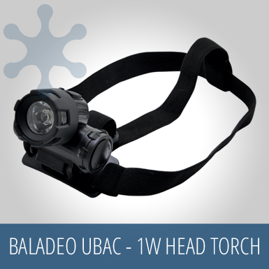 PowderAlps EVAC - 1W Cree LED Head Torch